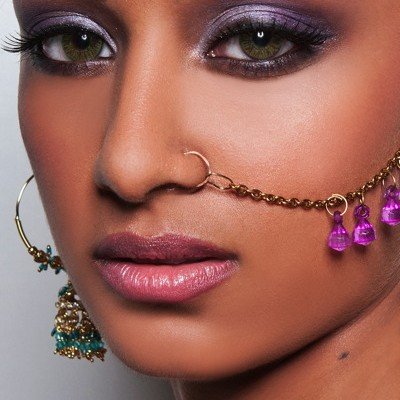indian bridal makeup look with Atlanta makeup artist Mimi J
