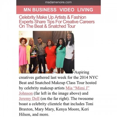 MN Business Video Living with Celebrity Makeup Artists & Fashion Experts Beat & Snatched Tour