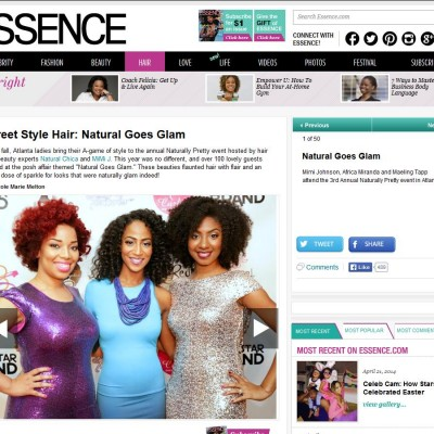 essence Natural Goes Glam with Mimi J