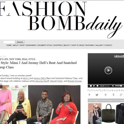 fashion bomb daily featuring MiMi J