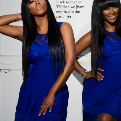 Kenya Moore Kontrol magazine editorial makeup artist Mimi Johnson2