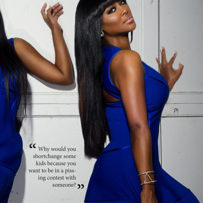 Kenya Moore Kontrol magazine editorial makeup artist Mimi Johnson3