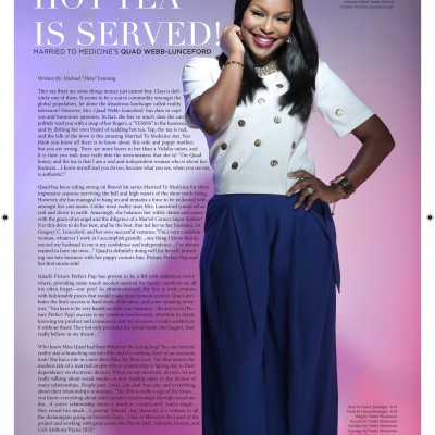 Kontrol Magazine Quad Webb-Lunceford makeup artist Mimi J Atlanta GA