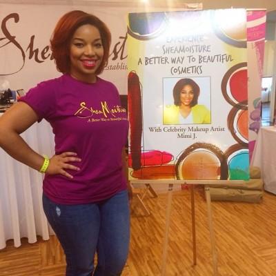 Experience Shea Moisture with Celebrity Makeup Artist Mimi J.