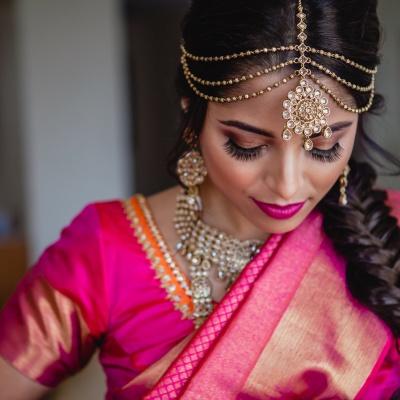 Rachana and Imrans Indian Wedding makeup look
