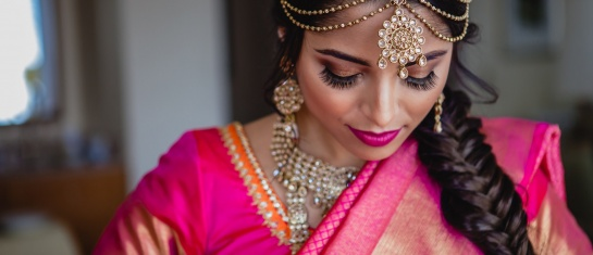 Rachana and Imrans Indian Wedding makeup look