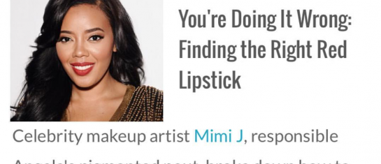 eonline finding the right red lipstick mimi j angela simmons